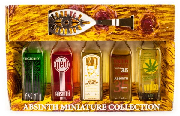 L`OR Absinth Miniatur Kollektion