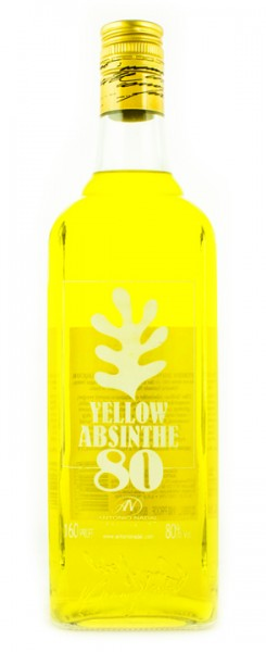 Absinth Tunel 80 Yellow