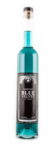 Absinth Blue Velvet