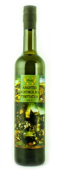 Absinth Hieronymus Bosch Temptation verte