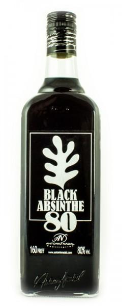 Absinth Tunel Black 80